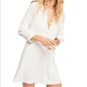 Free People Beach button dress
